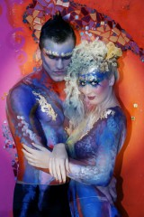 Bodypainting bei Curly Sue in Ludwigsburg